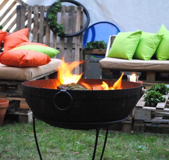 Carnival 21st birthday party planned - kadai fire bowl