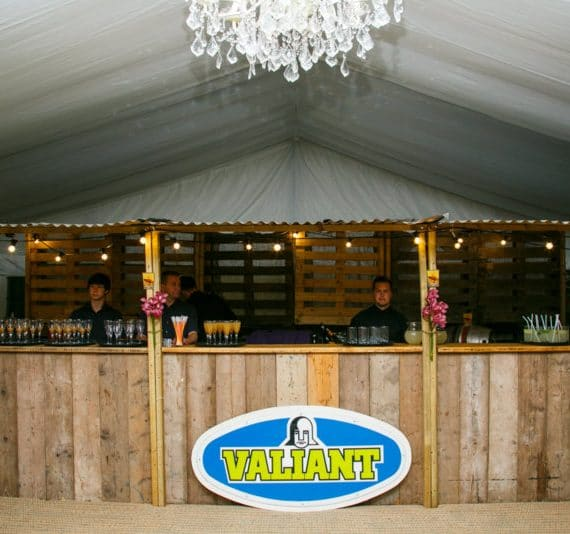 Carnival 21st birthday party planned with wooden shack bar