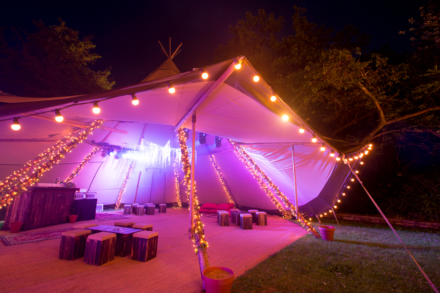 A festival style 21st birthday party in July party planning by