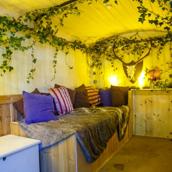 Enchanted Forest party planned - Shepherds hut cosiness