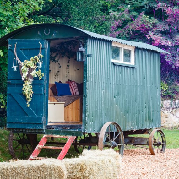 Enchanted Forest party planned - Shepherds hut getaway