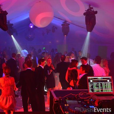 1980s neon theme birthday party - amazing lighting and entertainment