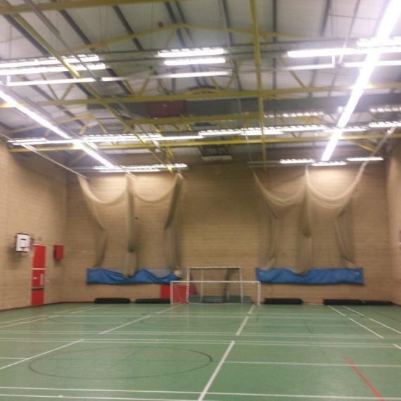 Sports Hall Before Transformation
