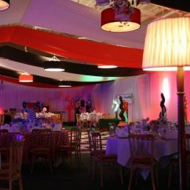 Sports Hall transformed for an event