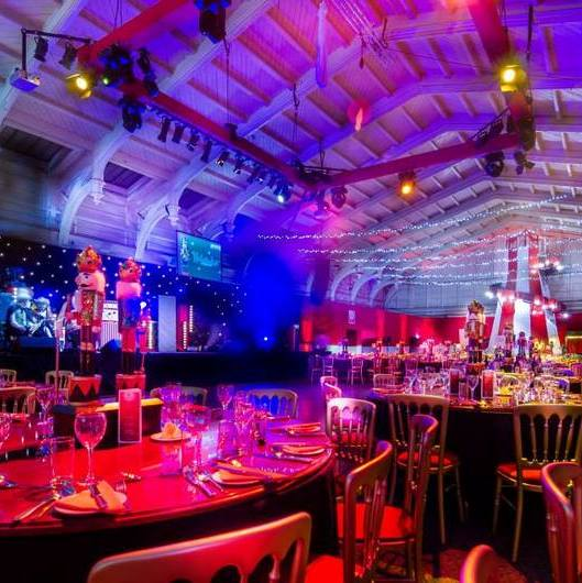 Bristol Passenger shed - Bespoke design for corporate christmas party - nutcracker theme