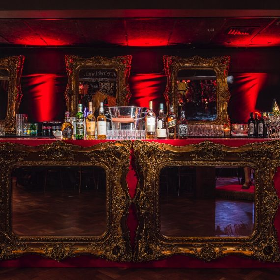 Styling at One Embankment: bespoke bar