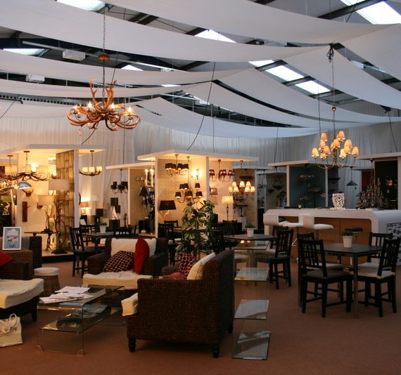 Warehouse exhibition transformation