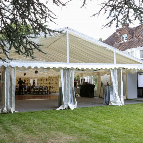 Marquee final preparations
