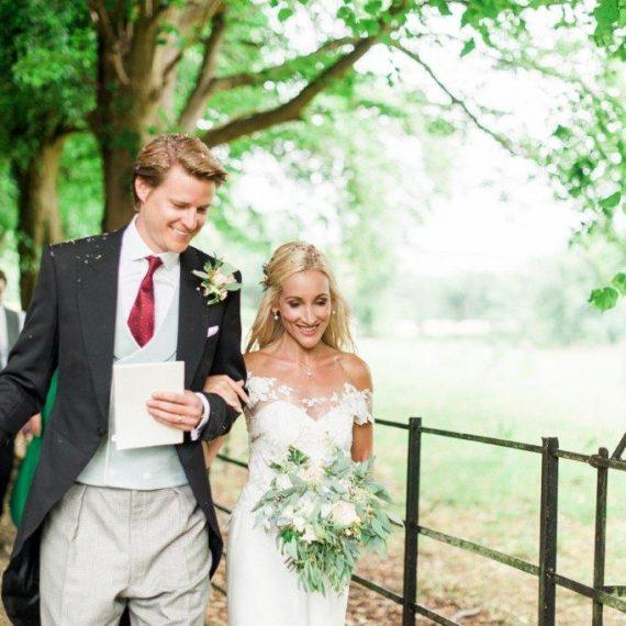 newlyweds at Cornwell Manor