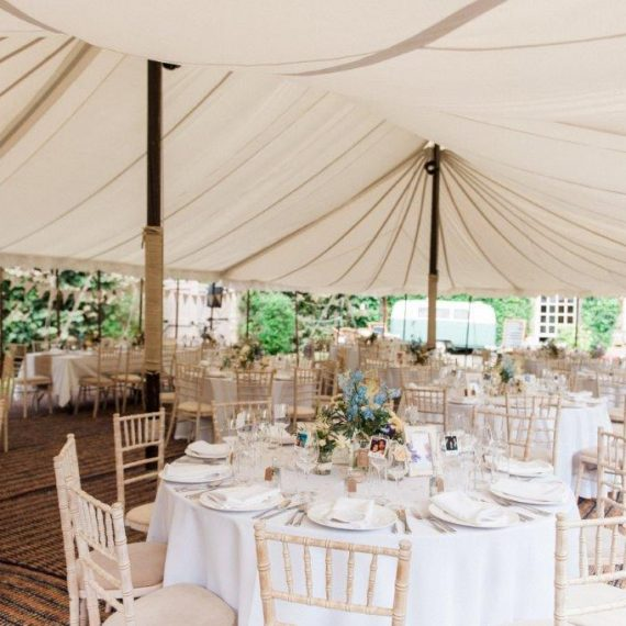 Pole marquee at Cornwell Manor