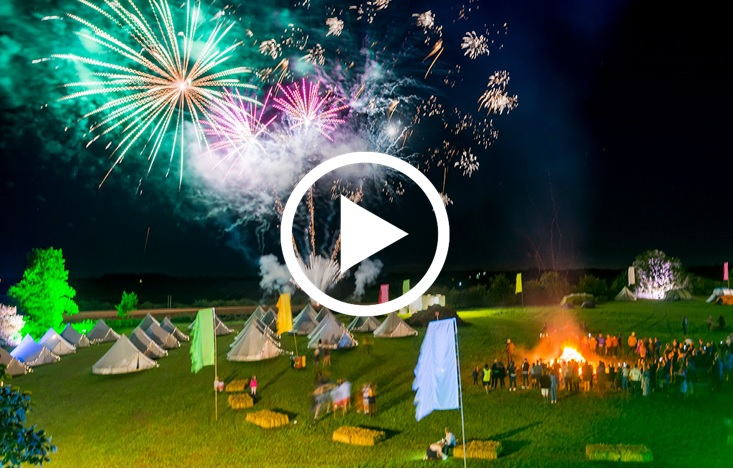 fireworks film of events