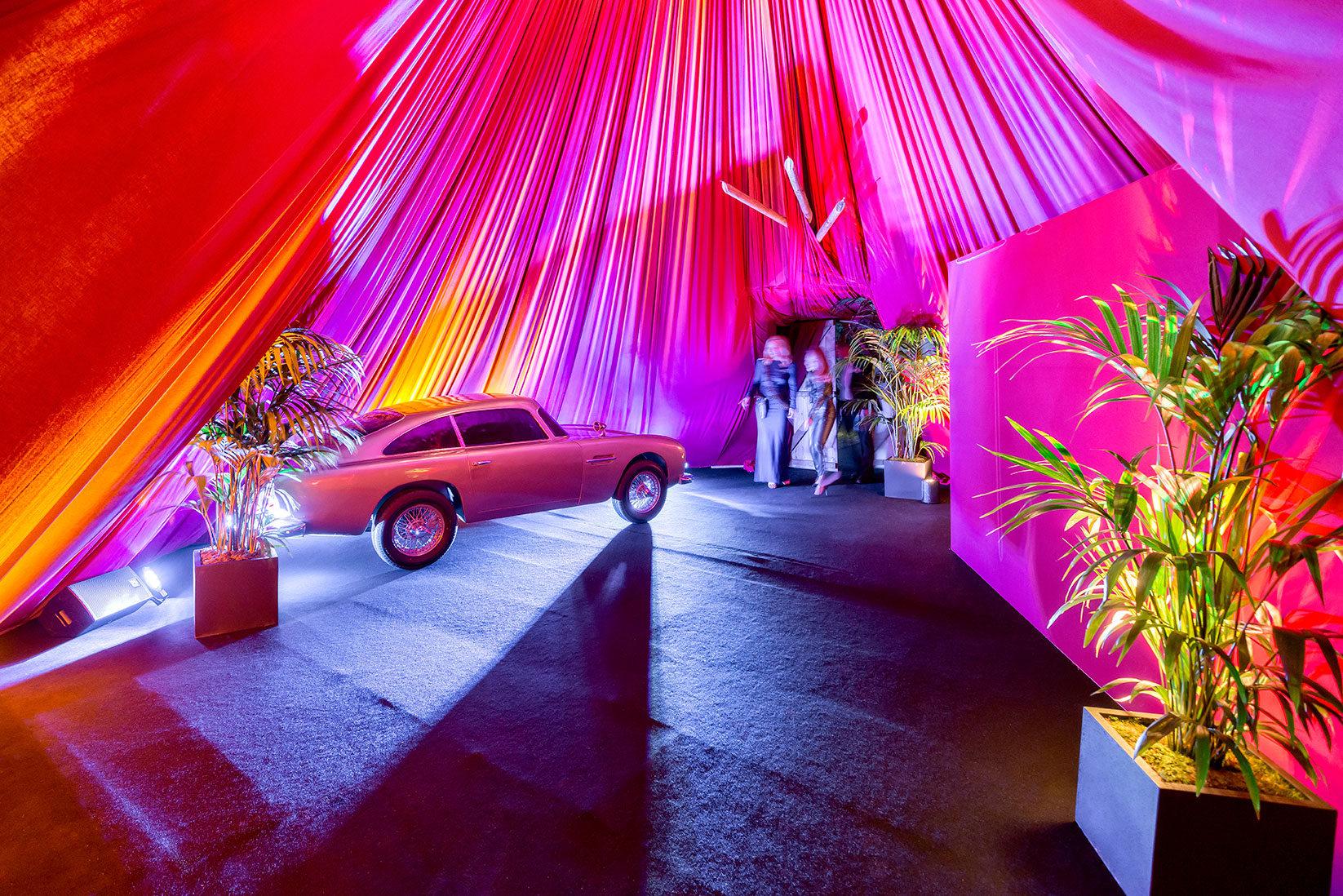 blofeld�s lair � sophisticated bondthemed 50th birthday