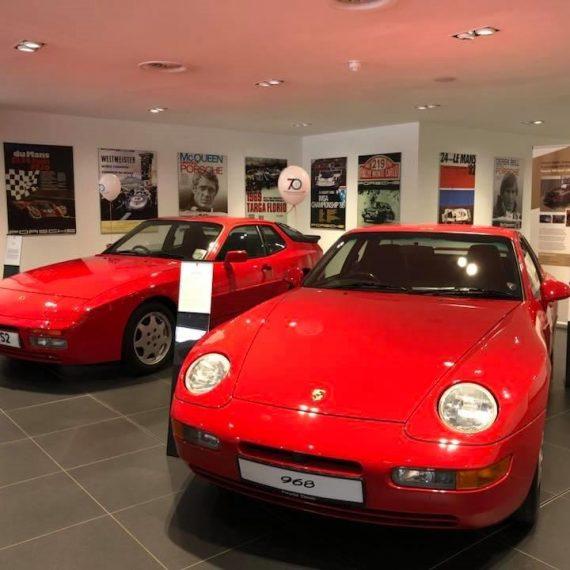Porsche 944 and Porsche 968