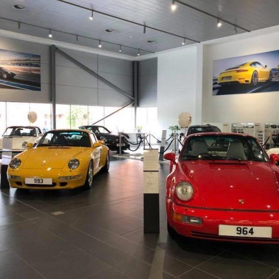 Porsche 993 and Porsche 964