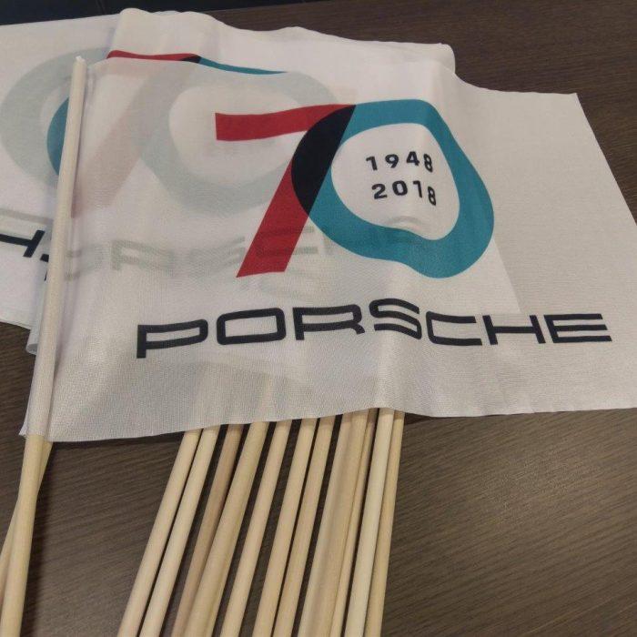 Flags for Porsche Sportscar Together Day 2018