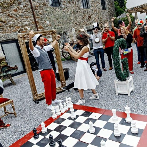 A winning game of chess
