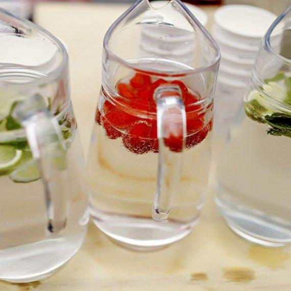 Fruit hydration station by Cru Events