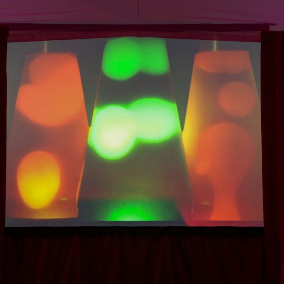 70s projection - lava lamps